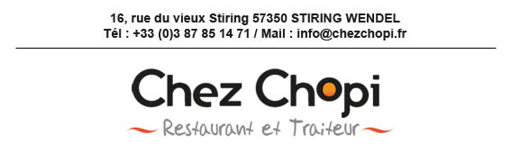Traiteur Restaurant Chopi